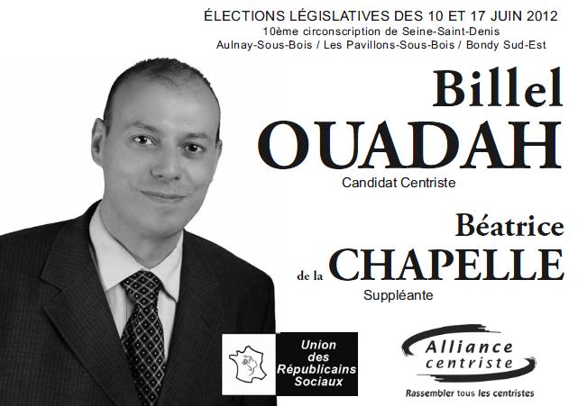 Tracts de campagne - image Bulletin-de-vote-Billel-Ouadah-Béatrice-de-la-Chapelle on http://www.billelouadah.fr