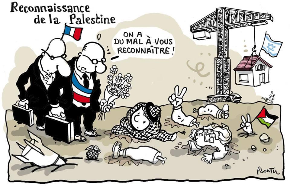 Lagarde (UDI) contre la reconnaissance de l'Etat Palestinien...  - image Reconnaissance-Palestine on http://www.billelouadah.fr