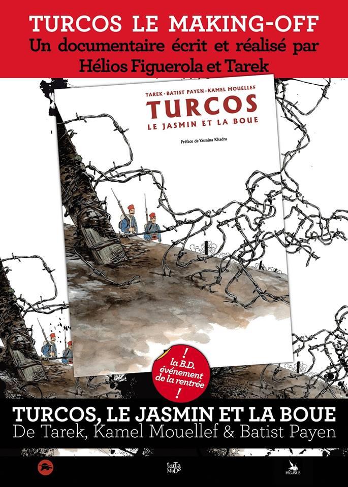 Turcos Le Jasmin et la Boue - image billel-ouadah-turcos on http://www.billelouadah.fr